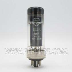 EL34/6CA7 Mullard XF2 O Getter (NOS)