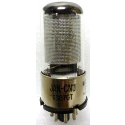 6SG7GT Tube  Semi Remote cut off RF Pentode, Glass Tube, JAN
