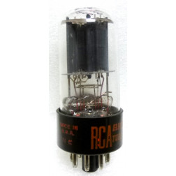 6SN7GTB-RCA Tube, full base,  Medium Mu Twin Triode, RCA