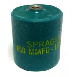 715C651Z18DK Doorknob Capacitor, Sprague