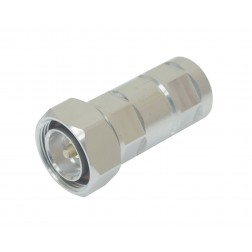 716M12R 7/16 DIN Male Connector, LDF4-50,Konectz