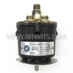 7422 Bird Coaxial Switch,  1 circuit, 2 Postion, 50 ohm (PULL)