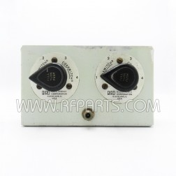 7431 Bird Dual 4 Position RF Coaxial Selector Switches in Bracket (PULL)