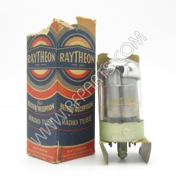 7G7 Raytheon Sharp Cutoff Pentode Tube (NOS/NIB)