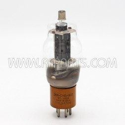 807W/5933 / VT-100A Sylvania Tetrode Vacuum Tube  Black Plate (NOS/NIB)