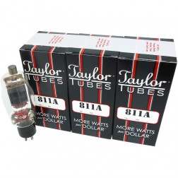 811A Transmitting Tube, Matched Set of Three, Taylor Tubes (1 Year Warranty)
