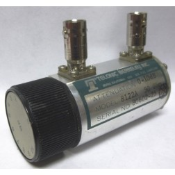8122A  Attenuator, Rotary, 0-10dB / 1dB Steps, DC-2 GHz, 2 watts, BNC Female, Telonic Berkeley