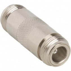 82-101 IN Series Adapter, Type-N Female to N Female Barrel, UG29B/U (Industrial version) Amphenol