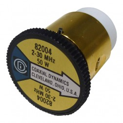 CD82004 Wattmeter Element, 2-30 mhz, 50 watt, Coaxial Dynamics