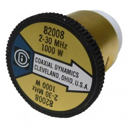 CD82008 wattmeter element, 2-30mhz 1000watt, Coaxial Dynamics