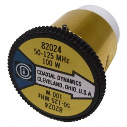 CD82024  wattmeter element, 50-125mhz 100watt, Coaxial Dynamics