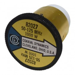 CD82027 C.wattmeter element,50-125mhz 1000watt, Coaxial Dynamics