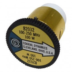 CD82032 Wattmeter Element, 100-250mhz 100watt, Coaxial Dynamics