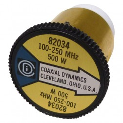 CD82034 wattmeter  element,100-250mhz 500watt, Coaxial Dynamics