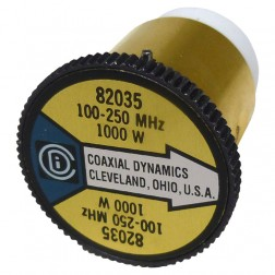 CD82035 wattmeter .Element,100-250mhz 1000watt, Coaxial Dynamics