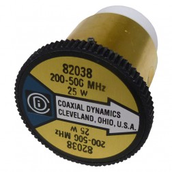 CD82038 Coaxial Dynamics Wattmeter Element, 200-500 mhz 25 watt, coaxial dynamics, Used, Great Condition