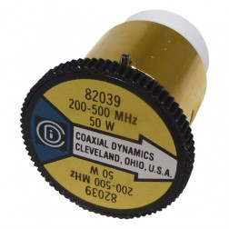 CD82039 wattmeter element 200-500 mhz 50watt, coaxial dynamics