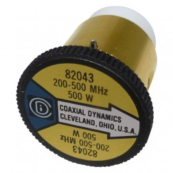 CD82043 wattmeter element,100-250mhz 500watt, Coaxial Dynamics