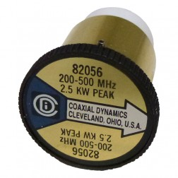 CD82056 Wattmeter element, 200-500 mhz 2500 watt Coaxial Dynamics
