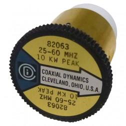 CD82063 Wattmeter  element, 25-60 mhz 10kw Coaxial Dynamics