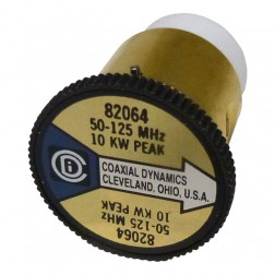 CD82064 Wattmeter element, 50-125 mhz 10kw, Coaxial Dynamics
