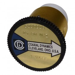CD820D028  Wattmeter Element,  25-30 mhz 1w, Coaxial Dynamics
