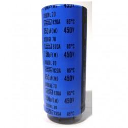 82DA751M450 Capacitor, 750uf 450v,  Nippon/Chemicon