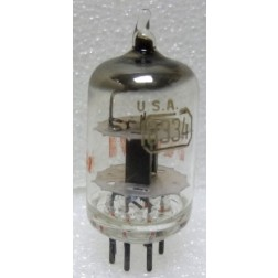 8334 Tube, High-Mu Triode,  RCA 5960-00-764-2107