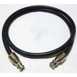 8421-BMBM-4 Pre-Made Cable Assembly, 4 foot / 48 Inches, 8421 w/BNC Male (AAA1004-48)