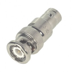 9033-20 Fixed Attenuator, 2w, 20dB, BNC Male-Female, API/INMET