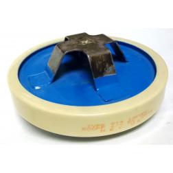 914-500  Doorknob Capacitor 500pf 14kvpk, MEC (Clean Used)