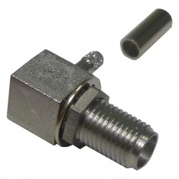 9613-9523-003 Connector, r.A.Sma(f) crimp, Bulkhead for rg316, rg174, Cable Group: B, JACK