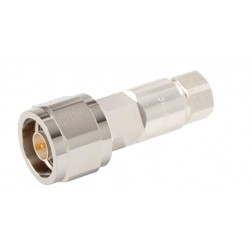 F1TNM-HC Type-N Male Connector, FSJ1-50 (Good to 6 GHz)
