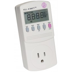P4400 Kill a Watt, Electricity usage monitor