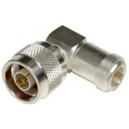 0-RFN1012-1 IN Series Adapter, Type-N Male to N Female Right Angle, RFI
