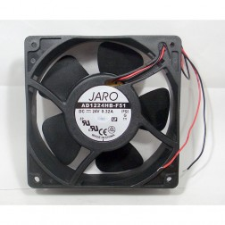 AD1224HB-F51   Fan motor,  24 vdc 320 ma 104 cfm,  JARO (Clean Used)