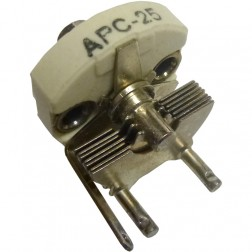 APC25 Variable Capacitor, Panel Mount, 2.8-17 pf, Hammarlund