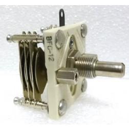 BFC12 Variable Capacitor, Panel Mount, 3.4-14.5 pf, Hammarlund