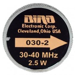 030-2 Bird Wattmeter Element 30-40mhz 2.5w