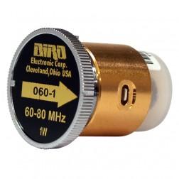 BIRD060-1 Bird, wattmeter element. 60-80 mhz 1w, Bird (Used, Good Condition)