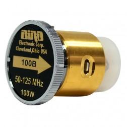 100B Bird Wattmeter Element  50-125 MHz 100 Watt