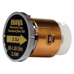 BIRD2.5J  Bird Wattmeter Element,  950-1260 MHz,  2.5 Watt, Bird