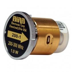 200-1 Bird wattmeter element 200-300mhz 1w, Bird Used Great Condition