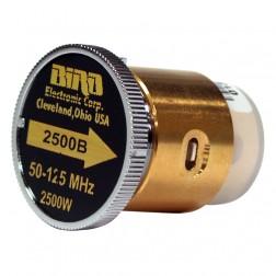 2500B  Bird Wattmeter Element,  50-125 MHz, 2500 Watt, Bird