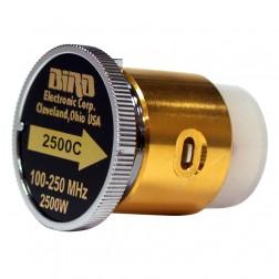 BIRD2500C  Bird Wattmeter Element,  100-250 MHz, 2500 Watt, Bird