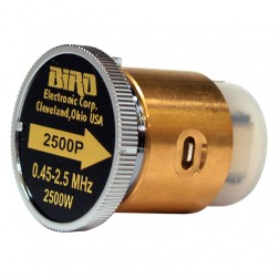 BIRD2500P  Bird Wattmeter Peak Reading Element,  0.45-2.5 MHz, 2500 Watt, Bird