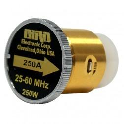 BIRD250A  Bird Wattmeter Element,  25-60 MHz, 250 Watt, Bird