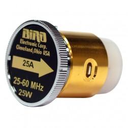 BIRD25A  Bird Wattmeter Element,  25-60 MHz, 25 Watt, Bird
