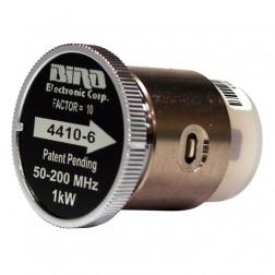 BIRD4410-6 - Bird Wattmeter Element 50-200MHz 0-1000 Watts, Bird