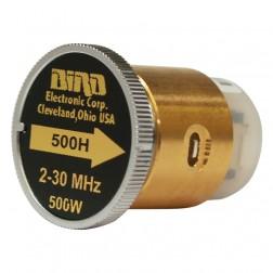BIRD500H-2 - Bird Element 2-30 mhz 500 watt (Good Used Condition)